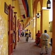 Colombia Walkway Poster