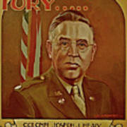 Colonel Joseph J. Healy Poster by Dean Gleisberg