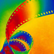 Color 35mm Strip Poster