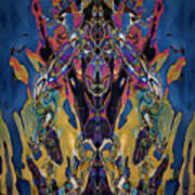 Color Abstraction Xxi Poster