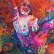Color Me Mardi Gras Poster