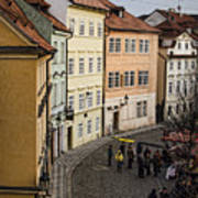 Color Of Prague Poster