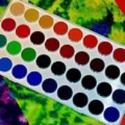 Color Palette Poster