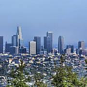 Color Pano Los Angeles California  Poster