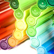 Color Pens 3 Poster