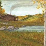 Colorado Cabin Poster