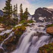 Colorado Cascading Waters Poster