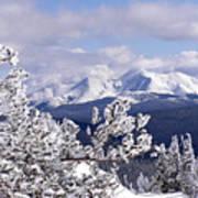 Colorado Sawatch Mountain Range Poster
