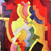 Colored Forms IIi By August Macke Poster