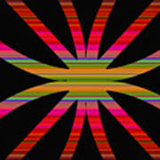 Colorful Abstract 11 Poster