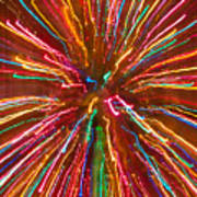 Colorful Abstract Photography Poster