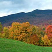 Autumnal Vermont Poster
