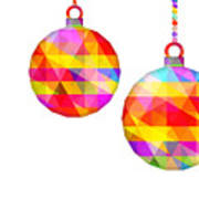 Colorful Baubles - 66 Poster