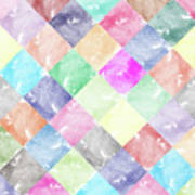 Colorful Geometric Patterns IIi Poster