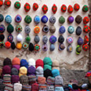Colorful Hats Poster