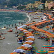 Colorful Monterosso Poster