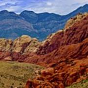 Colorful Red Rock Poster