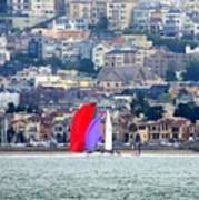 Colorful Sails Poster