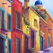 Colorful San Miguel Poster by Candy Mayer
