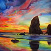 Colorful Solitude Poster
