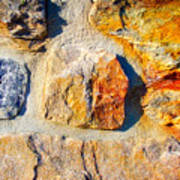 Colorful Stone Poster