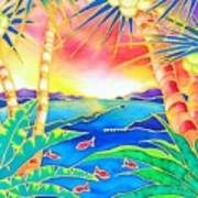 Colorful Tropics 12 Poster