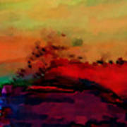 Colors In Aquarell Poster