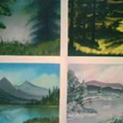 Colors Of Landscape 2 Poster