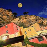 Colors Of Liguria Houses - Facciate Case Colori Di Liguria 3 Poster