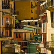 Colors Of Manarola Italy Poster