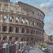 Colosseo Rome Poster