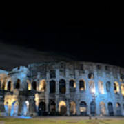 Colosseum By Night II Poster