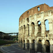 Colosseum Early Morning Poster