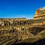 Colosseum In Rome Interior Poster