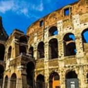 Colosseum In Rome Italy Poster