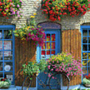 Colourful Boutique,france. Poster