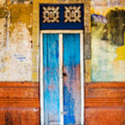 Colourful Door Poster