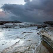 Colours Of A Storm - Seascape Poster