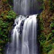 Columba River Gorge Falls 3 Poster