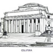 Columbia Poster by Frederic Kohli