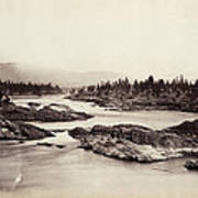 Columbia River: Kettle Falls Poster
