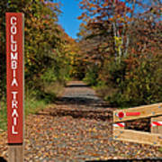Columbia Trail Entrance Poster