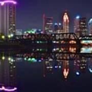 Columbus Ohio Reflecting Nicely Poster