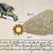 Comet, 1664 Poster