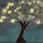 Comet Tree Poster