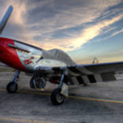 Comfortably Numb Buttoned Up For The Night At The Hollister Airshow Poster