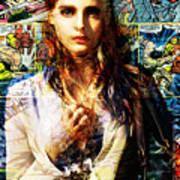 Comic Girl Poster