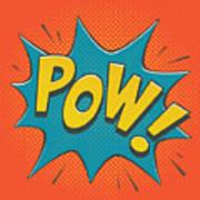 Comic Pow Poster
