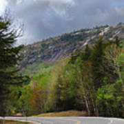 Comin Around The Bend In Campton New Hampshire Poster