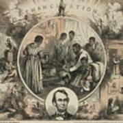 Commemoration Of The Emancipation Poster